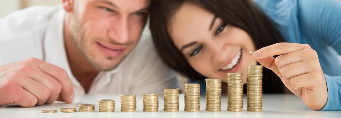 כסף קטן מצטבר לחיסכון גדול